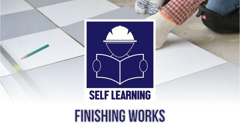 Course Image Finishing Works